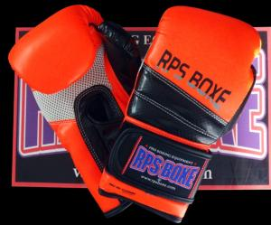 Gants boxe - P.U - RPS - GV2 Orange