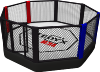 Cage octogone MMA 8m